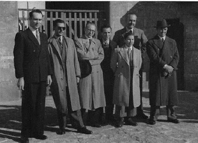 O'Kelly, Medina, Rafael Lloréns, Wade, Pomar, Manuel Golmayo y Najdorf