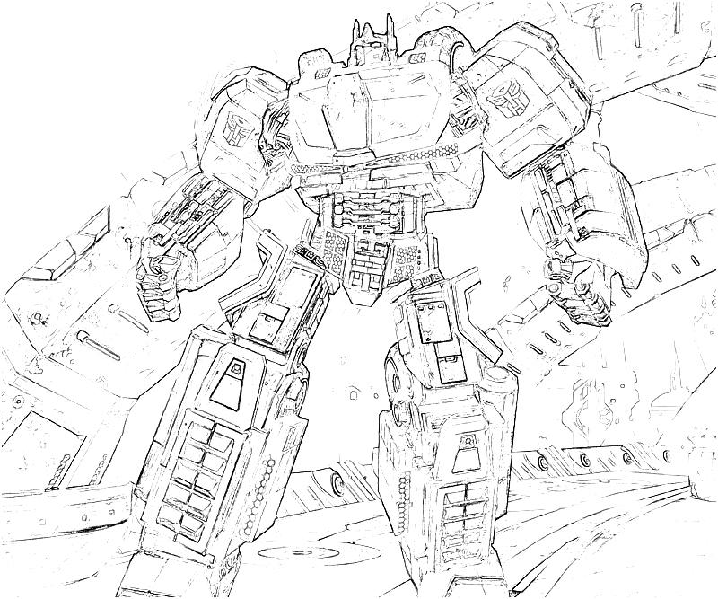 transformer gears coloring pages - photo#36