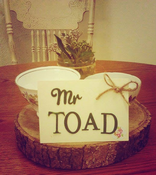 Mr Toad in Toad Hall, Wimborne