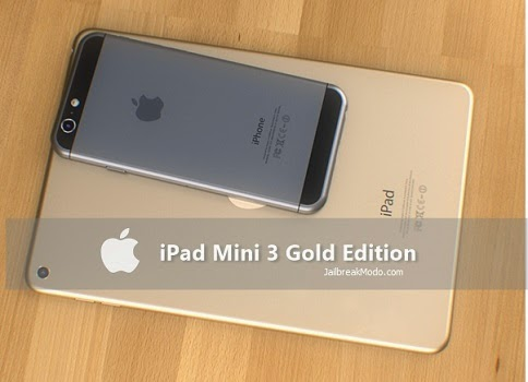 iPad Mini 3 Versi Emas
