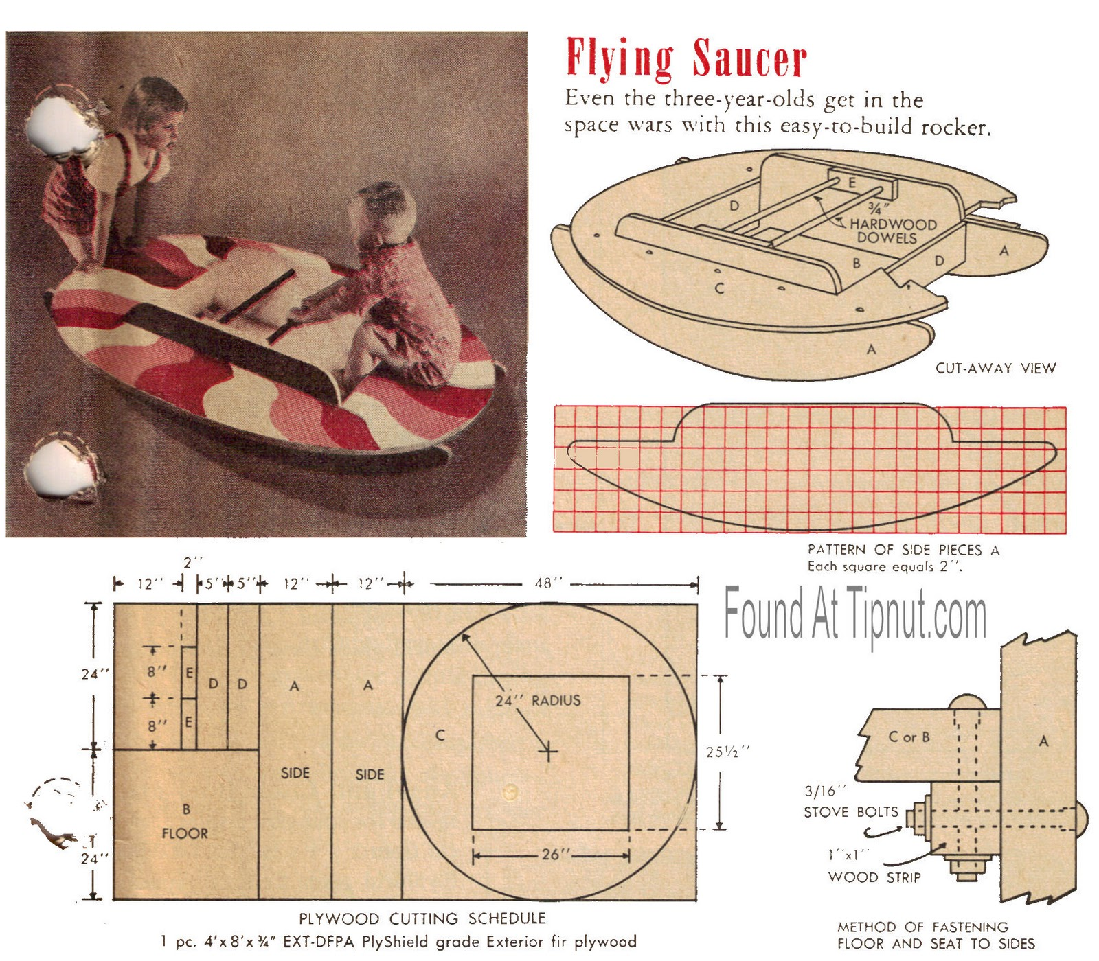 Wood Working Plans , Shed Plans and more: Flying Saucer