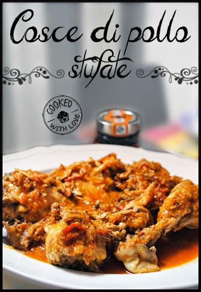 Ricetta Cosce di pollo stufate Bimby
