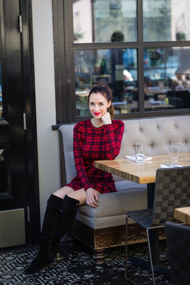 red london plaid dress via M Loves M @marmar