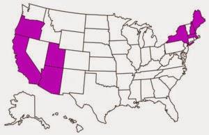 U.S. States I've Visited