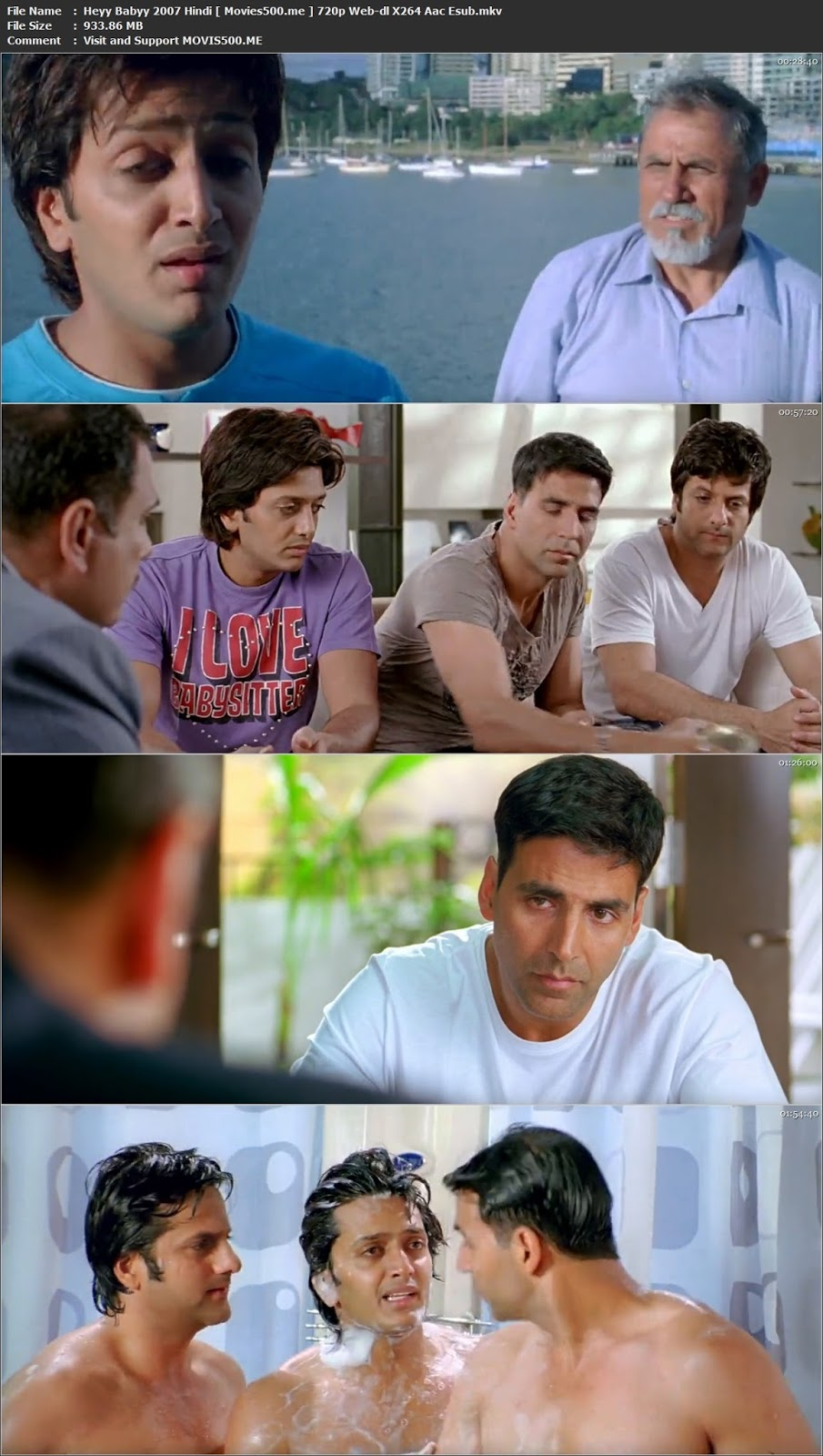 Heyy Babyy 2007 Hindi Full Movie 900MB 720p WEB DL at gencoalumni.info