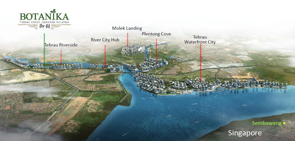 Botanika - 御园 @ Tebrau Coast, Iskandar Malaysia urpropertysg
