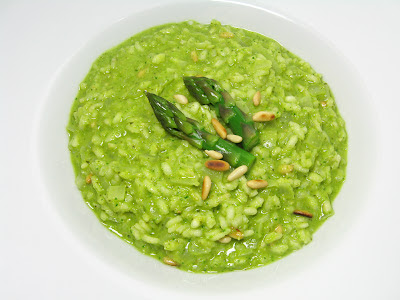 "Spring Risotto with Asparagus ""Pesto"""