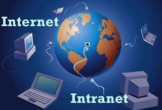 Perasamaan dan Perbedaan Pengertian Internet dan Intranet