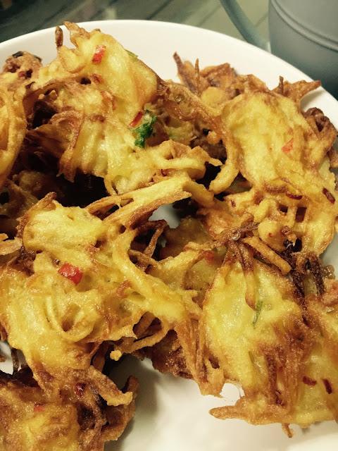 resepi mudah, potato fritter,sarapan, minum petang