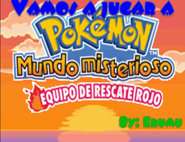 Vamos A Jugar Pokemon Mundo Misterioso Equipo Rojo