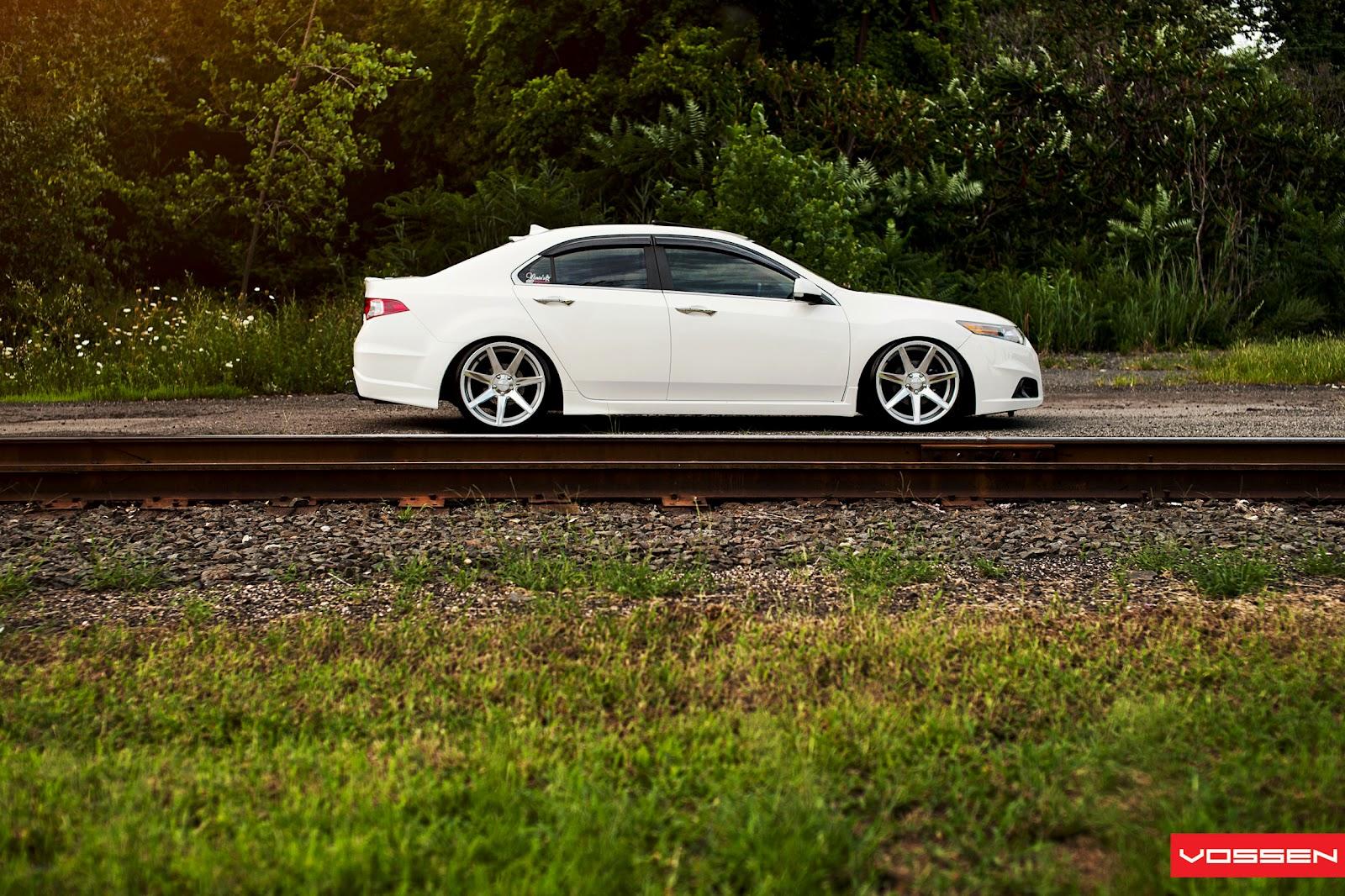 vossen wheels 4th gen acura tl with 20 inch x 10 5 vossen wheels with ...