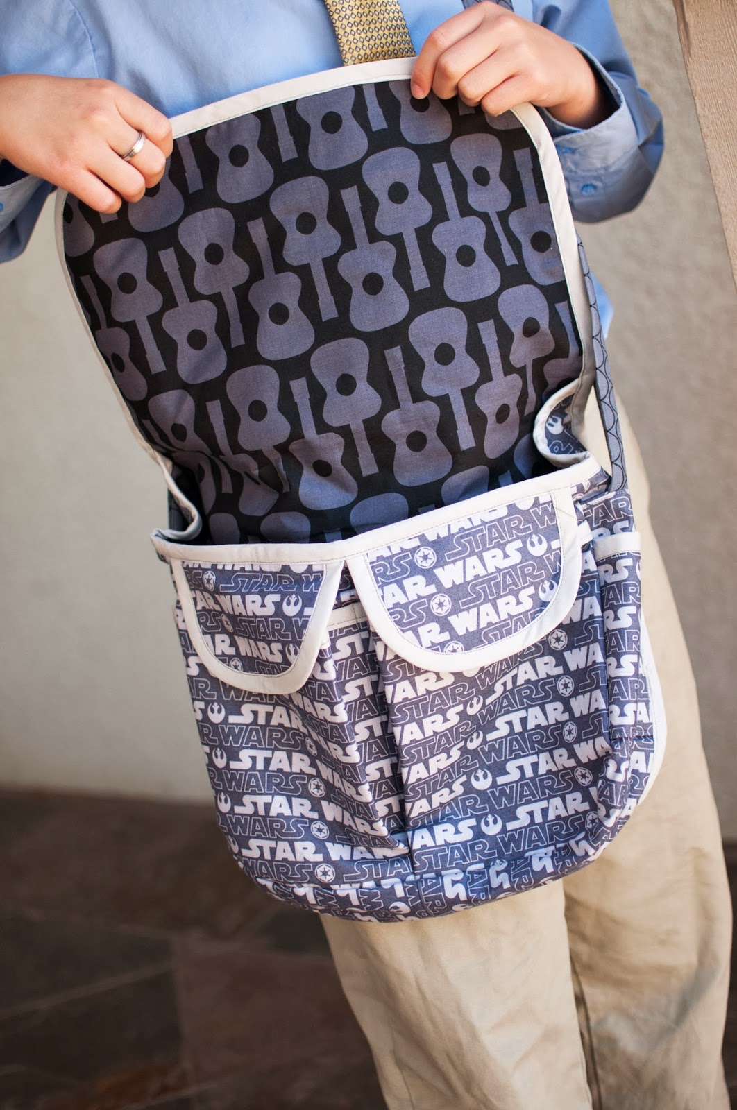 Mommy by day crafter by night star wars messenger bags jeuxipadfo Gallery