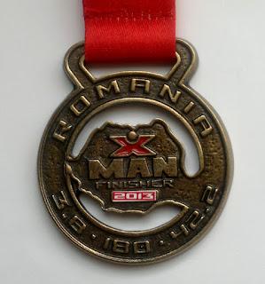 IronMan Oradea 2013 medalia