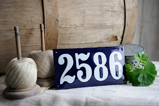 Ramsign - house number sign