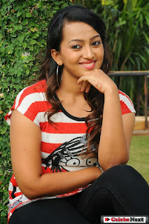 Actress Ester Noronha Pictures in Black Jeans at Bheemavaram Bullodu Movie Press Meet  0120.jpg