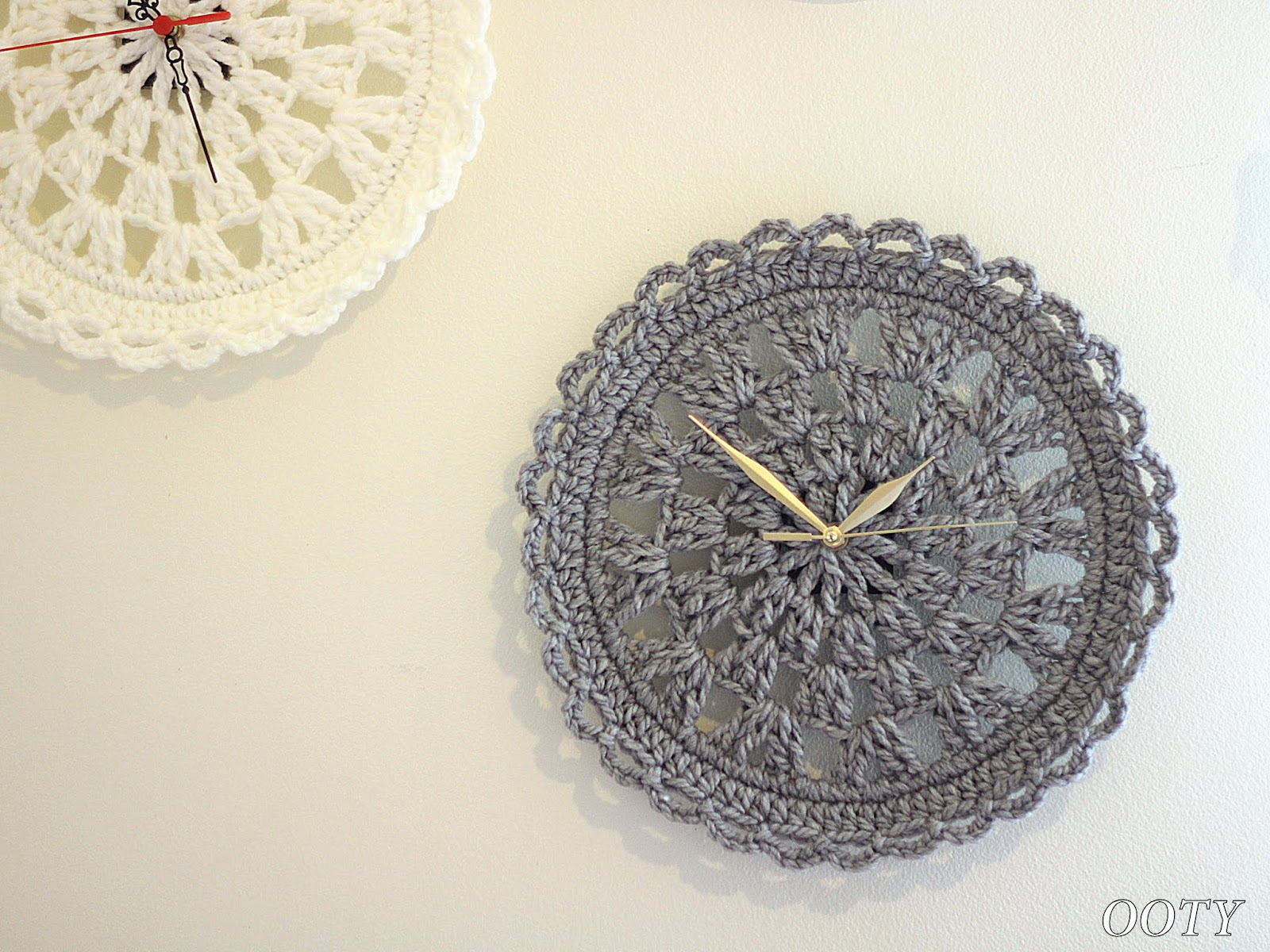 Ooty: Crochet Clock New Pattern