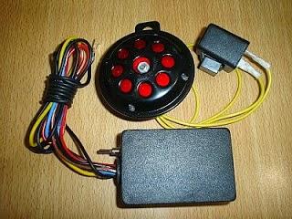 alarm sensor sentuh sepeda motor