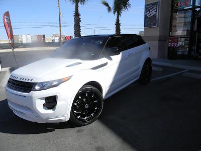 Range Rover Evoque Luxury Wheels