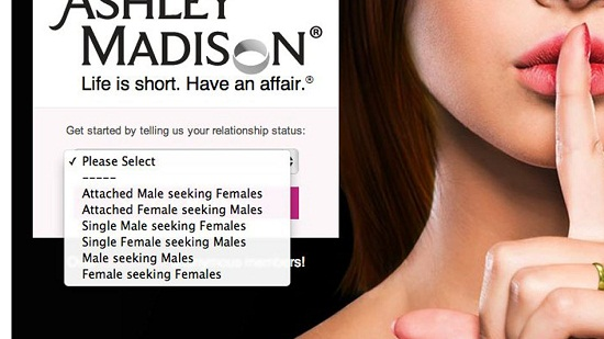 Ashley Madison data reportedly posted online by hackers