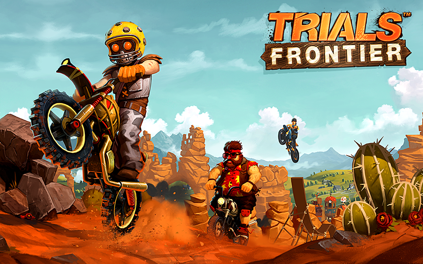 Trials Frontier Apk Data full Mod For Android Game