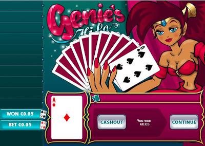 Play Genies Hi Lo Arcade Games Online at Casino.com Australia