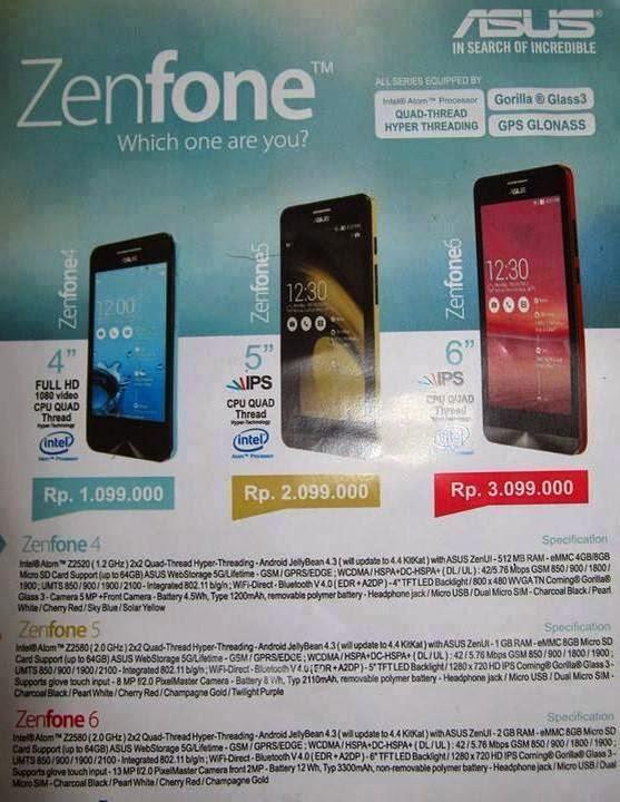 Asus Harga Malaysia Harga Asus Zenfone 6 di