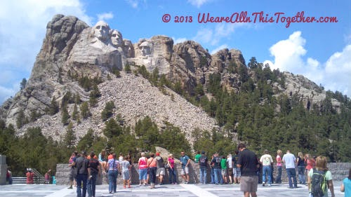 road trip Mt Rushmore