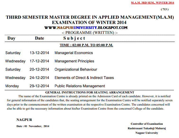 Rtmnu syllabus 5th sem civil for Rtu 6th sem time table