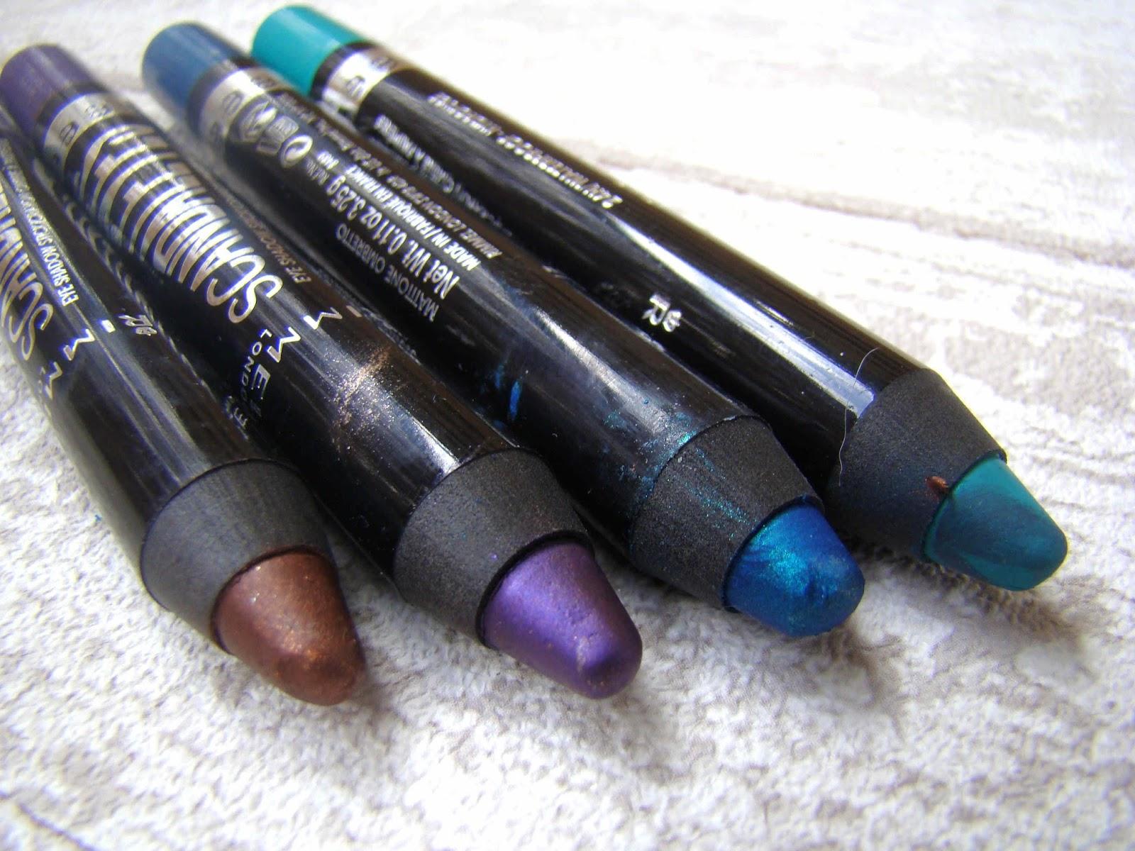 Crayon ombres à paupières Scandaleyes de Rimmel London