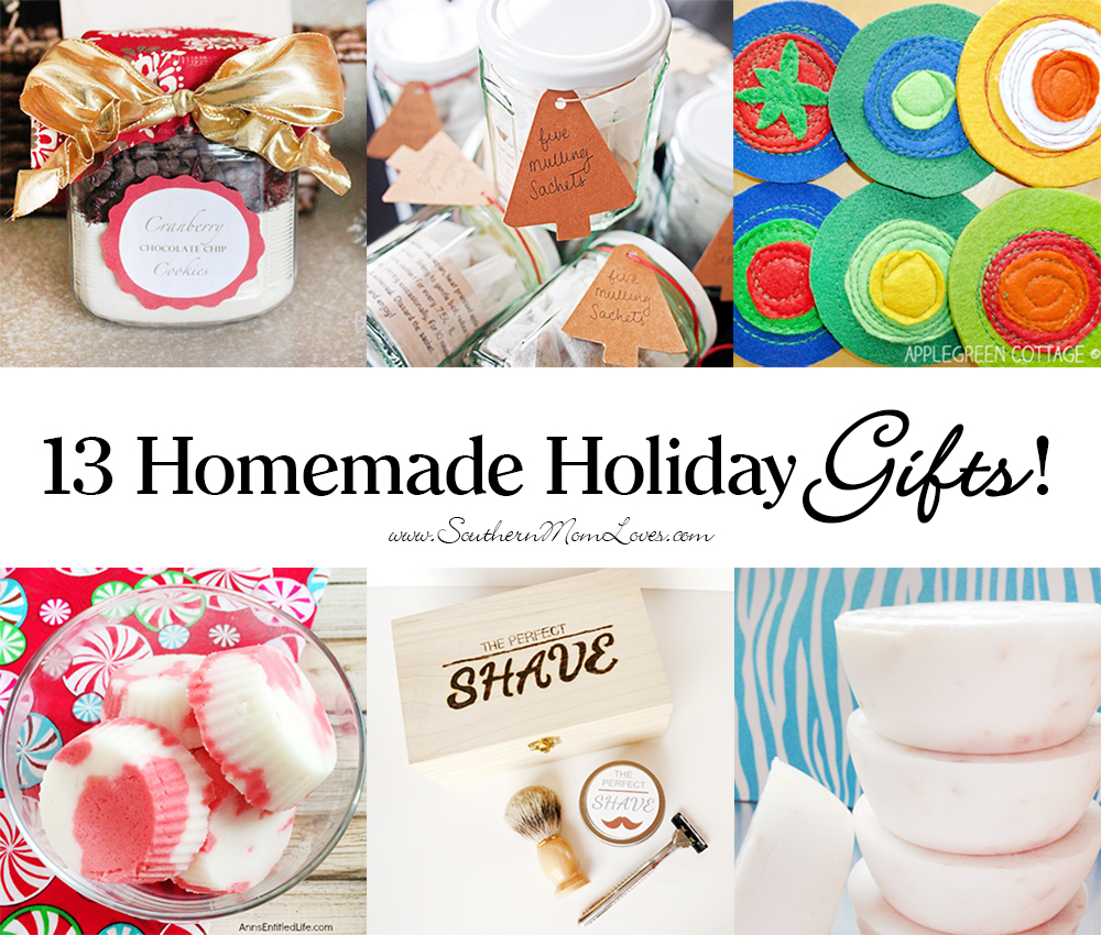 Southern Mom Loves 26 Homemade Holiday Gifts For Everyone