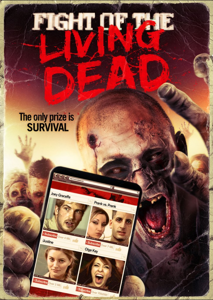 Fight of the Living Dead poster oficial
