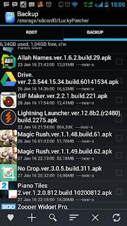 Cara Backup Otomatis Aplikasi Android setelah Menginstallnya