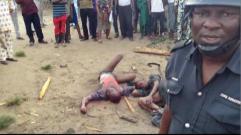 Aftermath of Lynching and Burning of Gay Man in Uganda