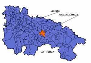 Situación geográfica de Soto