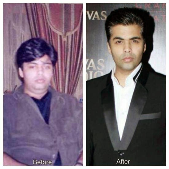 Karan Johar weight loss