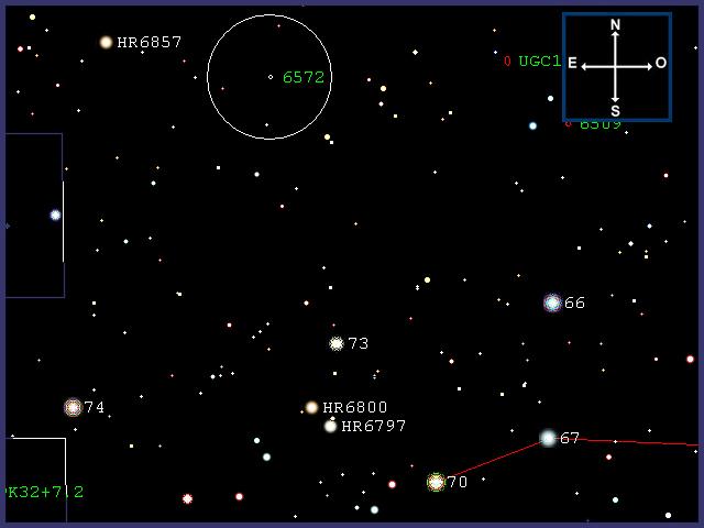 """NGC6572, nebulosa """"Blue Racquetball"""" NGC6572-0002"""