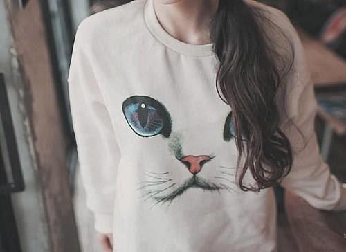 Sudadera de gatito