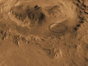 MSL Landing Site: