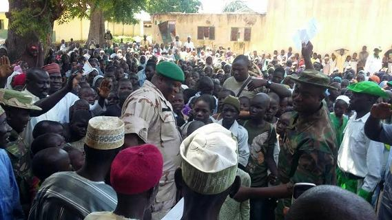Nigerian Troops reopens school in Gwoza &arrest fleeing Boko Haram members