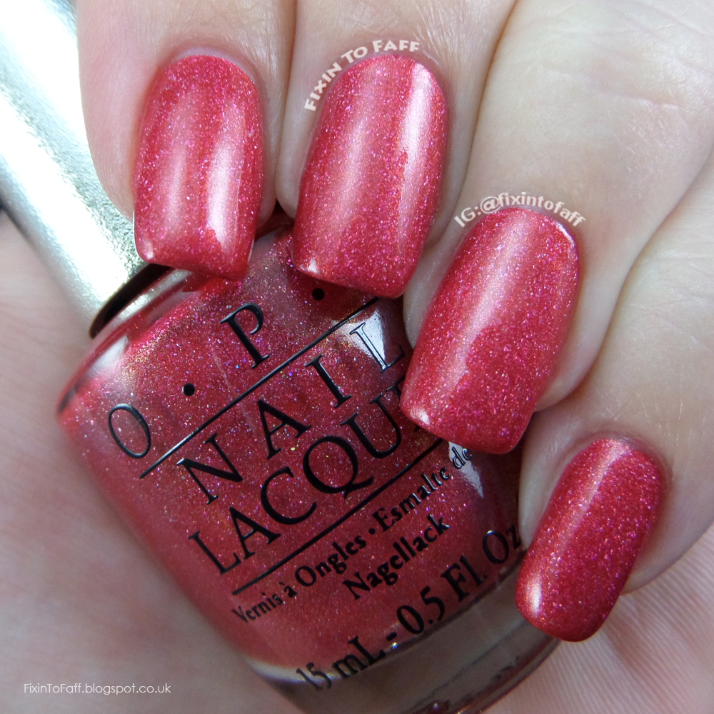 Swatch of OPI DS Reflection.