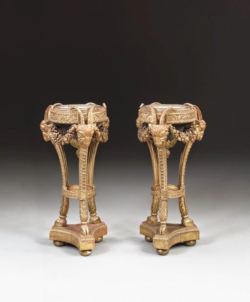 A Pair of Louis XVI Style Atheniennes