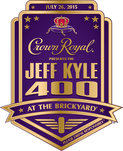 #‎JeffKyle400‬ Recognizing heroes - Crown Royal Presents the Jeff Kyle 400 at the Brickyard