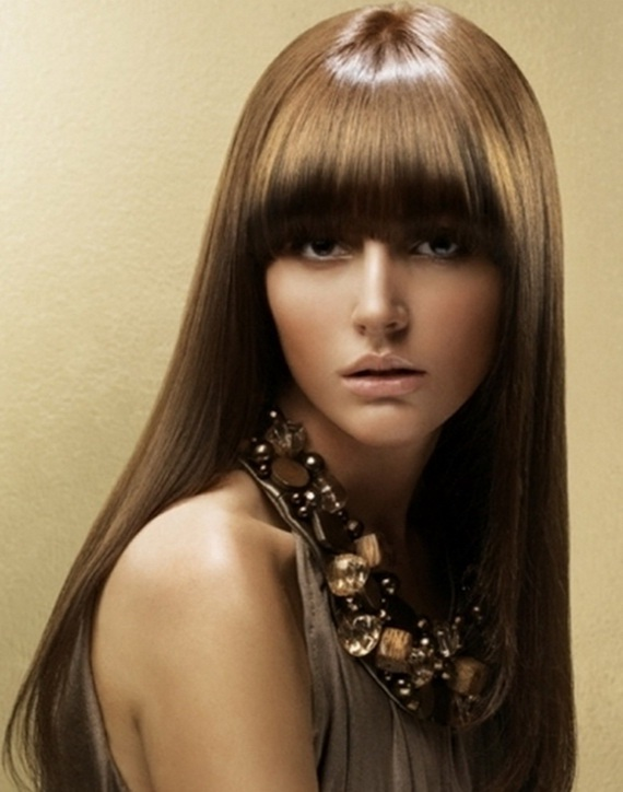 Sultry Straight Hairstyles for Women - Short haircuts 2013, haircuts ...