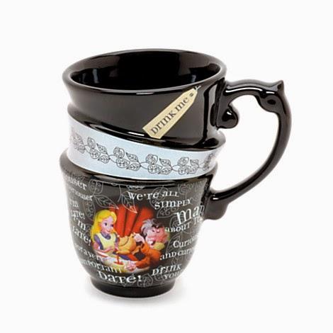 Mug empil alice au pays des merveilles my gift style - Tasse alice au pays des merveilles ...