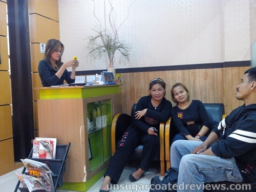 the staff of Orange Blush Salon Mother Ignacia branch