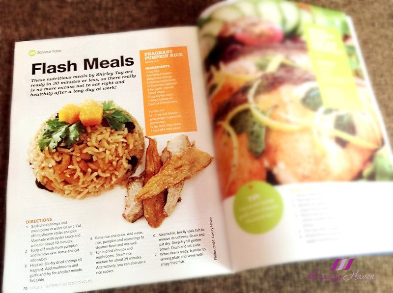 livewell magazine features luxury haven healthy recipes