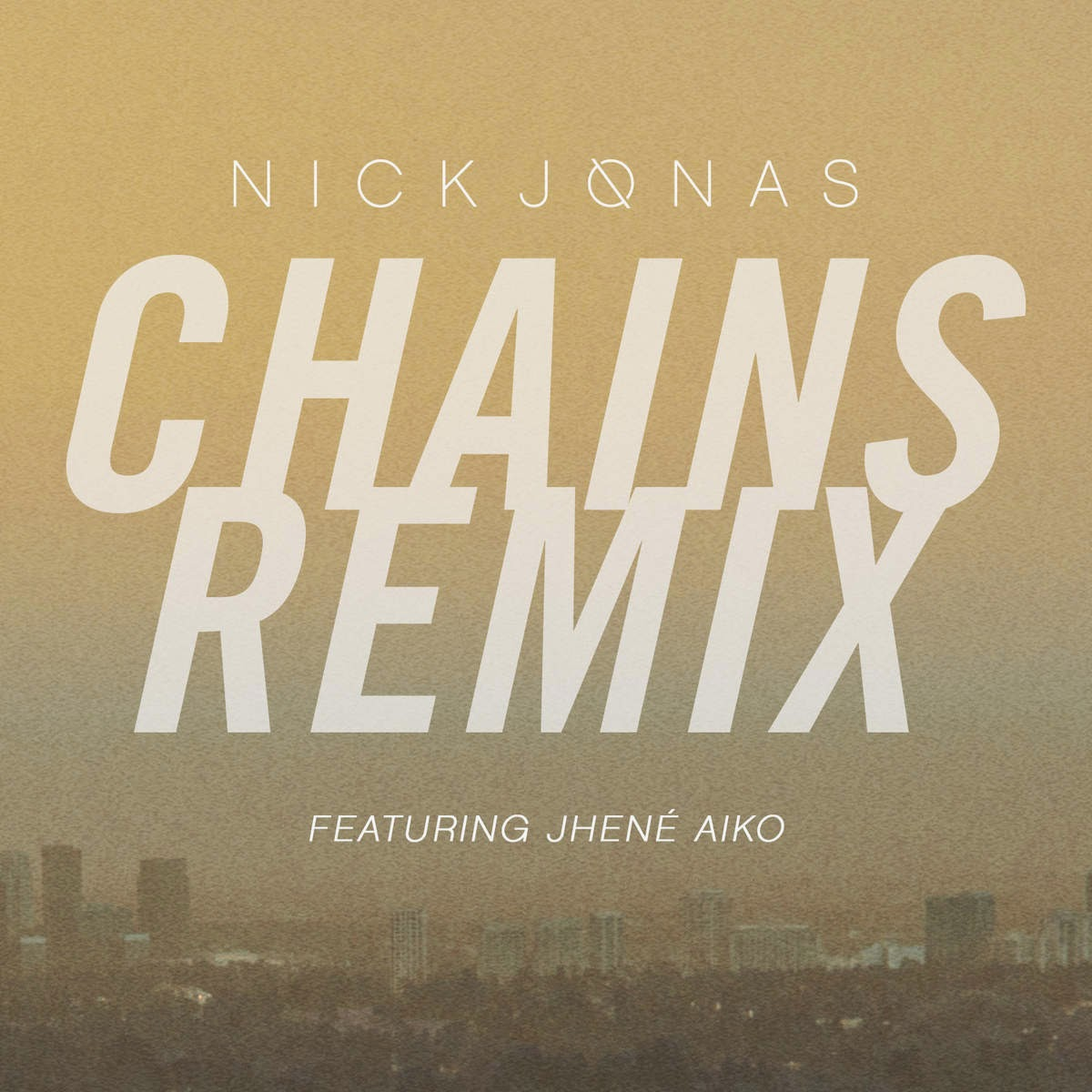 Nick Jonas - Chains (Remix) [feat. Jhené Aiko] - Single Cover