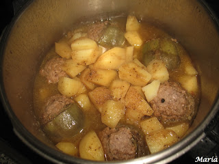 Alcahuciles rellenos con patatas