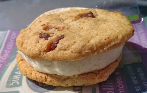 ... Scoop: Ice Cream Reviews: Three Twins Vanilla Bean Ice Cream Sandwich