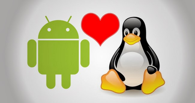 run linux over android